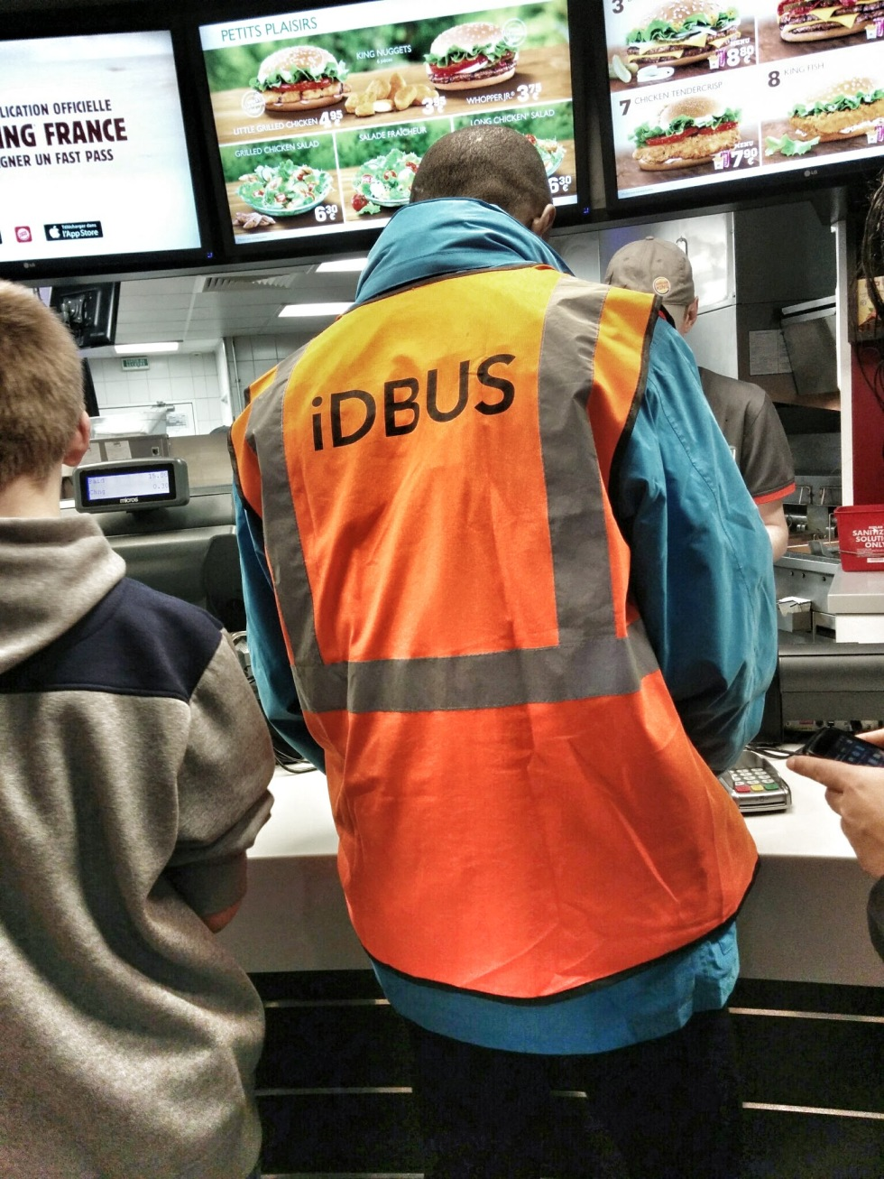 IDBUS aime les burgers