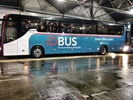 IDBUS à Victoria Station