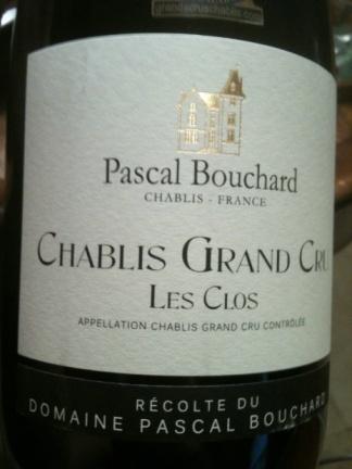 Pascal Bouchard - Grand Cru Chablis Les Clos