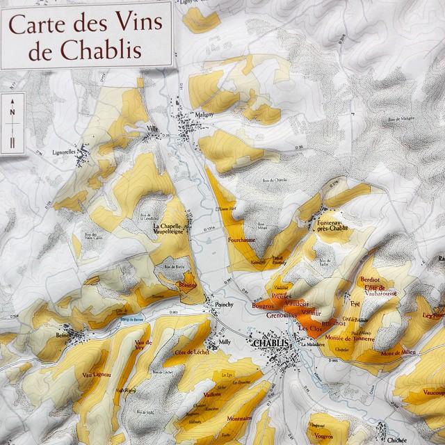 carte Chablis