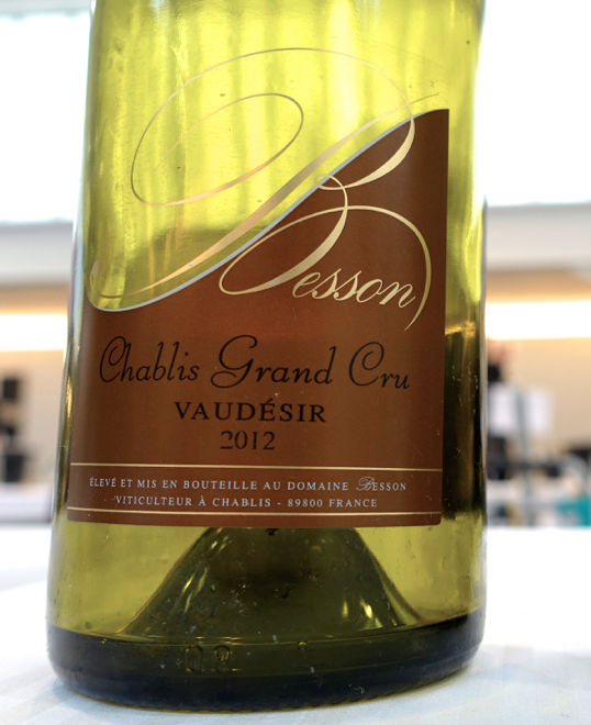 Domaine Besson - Grand Cru Chablis Vaudésir