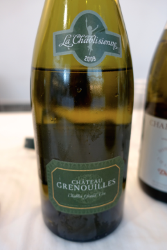 Château Grenouille - Grand Cru Chablis Grenouille