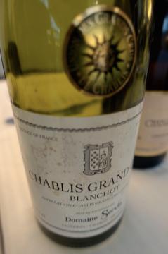 Domaine Servin - Grand Cru Chablis Blanchot