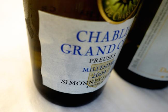 Simonnet Febvre - Grand Cru Chablis Preuses