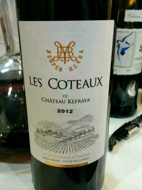 Les Coteaux de Château Kefraya 2012