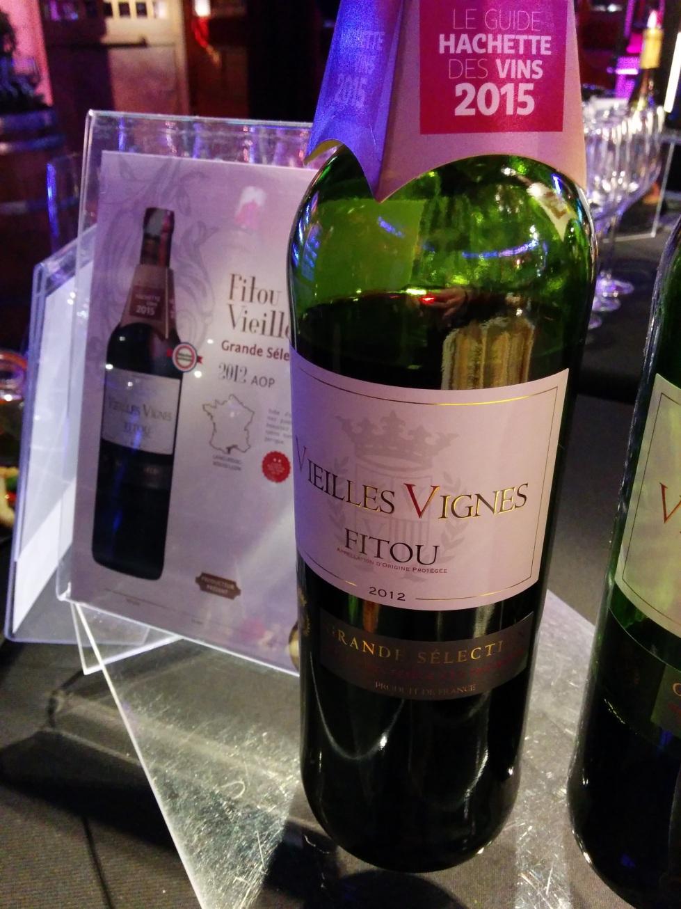 Vieilles Vignes Fitou 2012