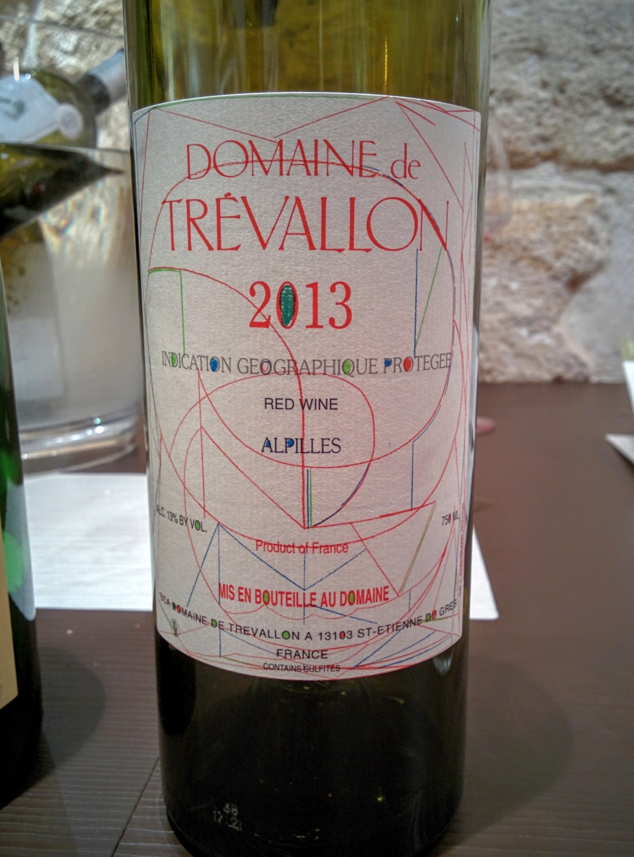 Trevallon Alpilles FAV Millésimes 2016