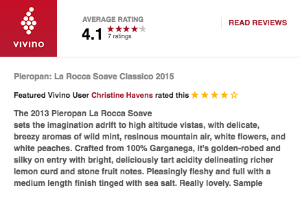 pieropan review vivino soave