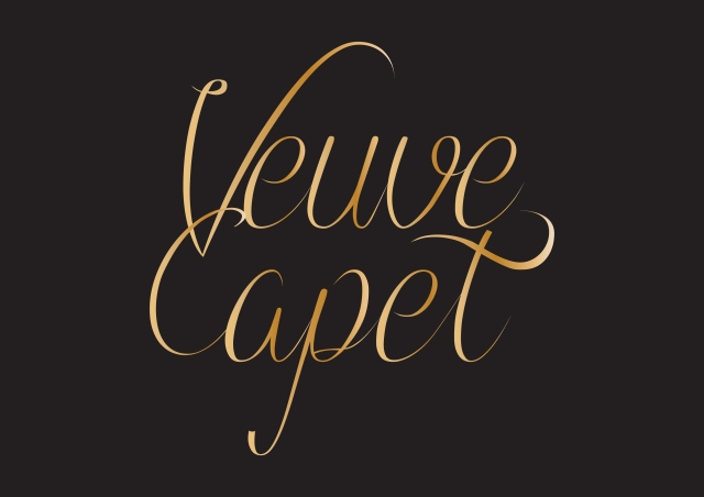 veuvecapet_logo_stacked_gold_bckgr