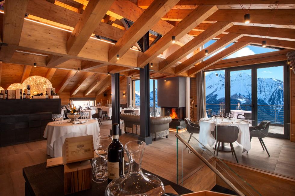 VALLE D'AOSTA-La Loge du Massif-Restaurant (foto Archivio Turismo)