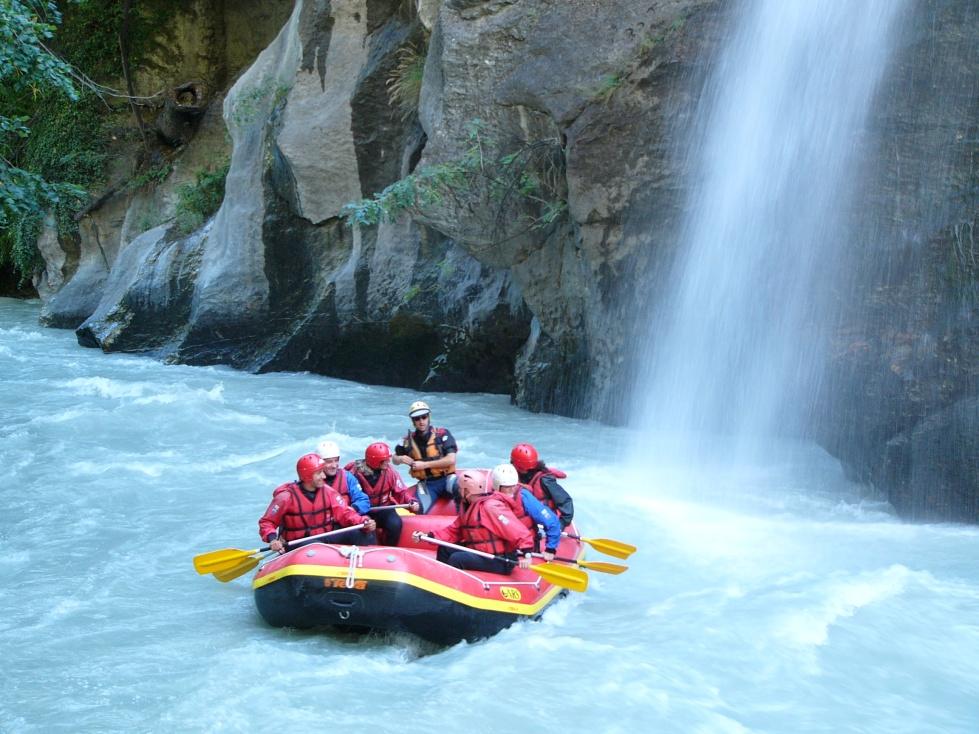 VALLE D'AOSTA-Rafting cascata 2