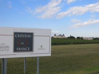 2011_Panneau entrée du Château de France