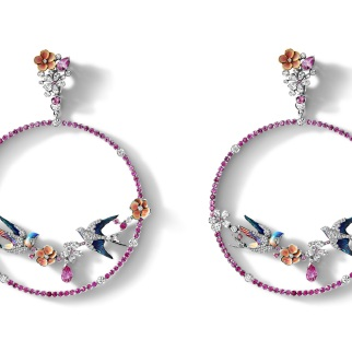 "LizaBorzaya_Courtship"" hoop earrings_1"