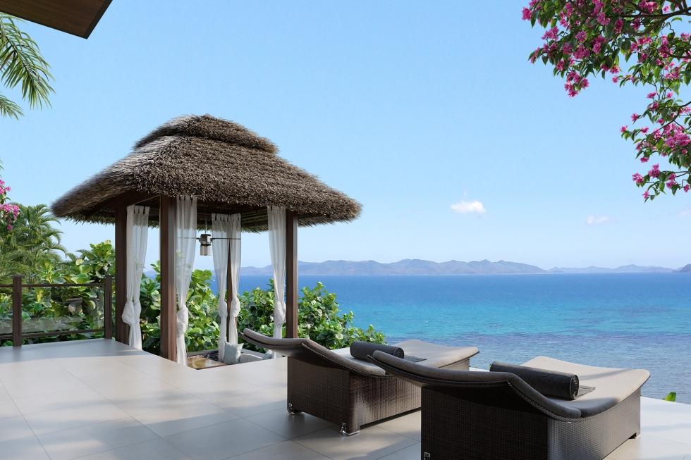 El Nido Beach Spa & Resort one bedroom ocean view villa exterior (2)